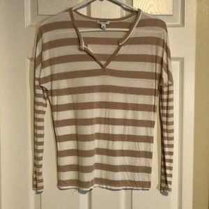 Striped Old Navy long sleeve top